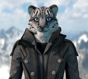 snow leopard small